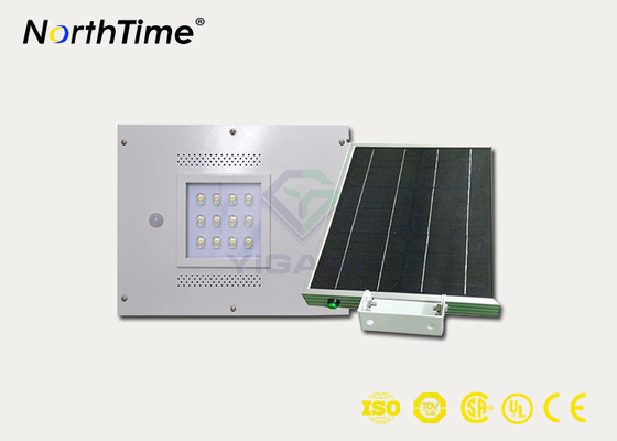 চীন 12W Integrated Solar Light Street Lamp With Sensor Aluminum Alloy Housing সরবরাহকারী