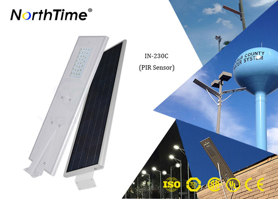 Phone App Control 30W All In One Solar Street Light With 65W Solar Panel