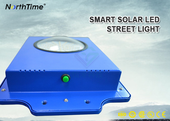 চীন Time Control 6W Smart Solar Street Light 600-700LM With Infrared Motion Sensor কারখানা