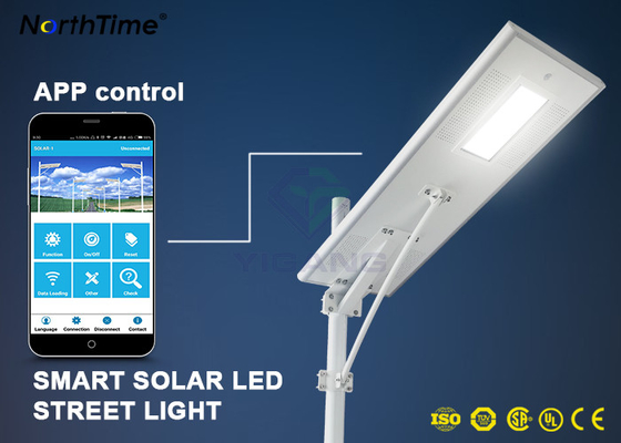 চীন Dimmable Solar Energy Motion Sensor IP65 70W LED Street Lights Charge Controller কারখানা