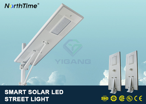 চীন PIR Motion Sensor Street Lights With Solar Panel For Parking Lot 7500 - 8000LM কারখানা
